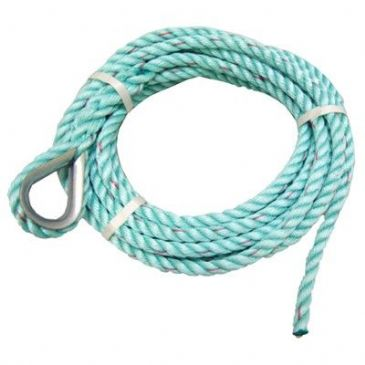 ROPE ANCHOR 16MM X 10M GREEN POLYPROP